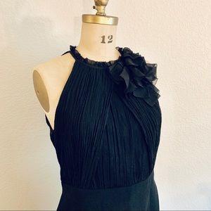 NWT Ann Taylor Sleeveless Black Dress Sz 12
